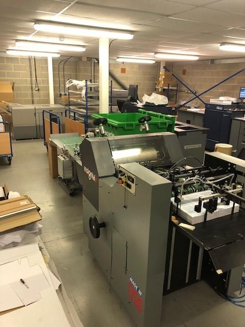 AU190603 - Certified Insignia 6 Rotary Die Cutting press
